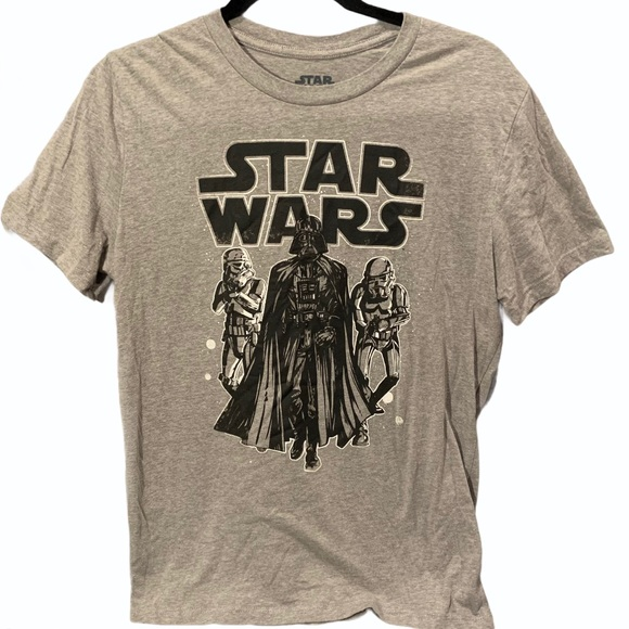 Men's Star Wars Gray T-shirt